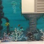Дизайн арки, декор арки для аквариума