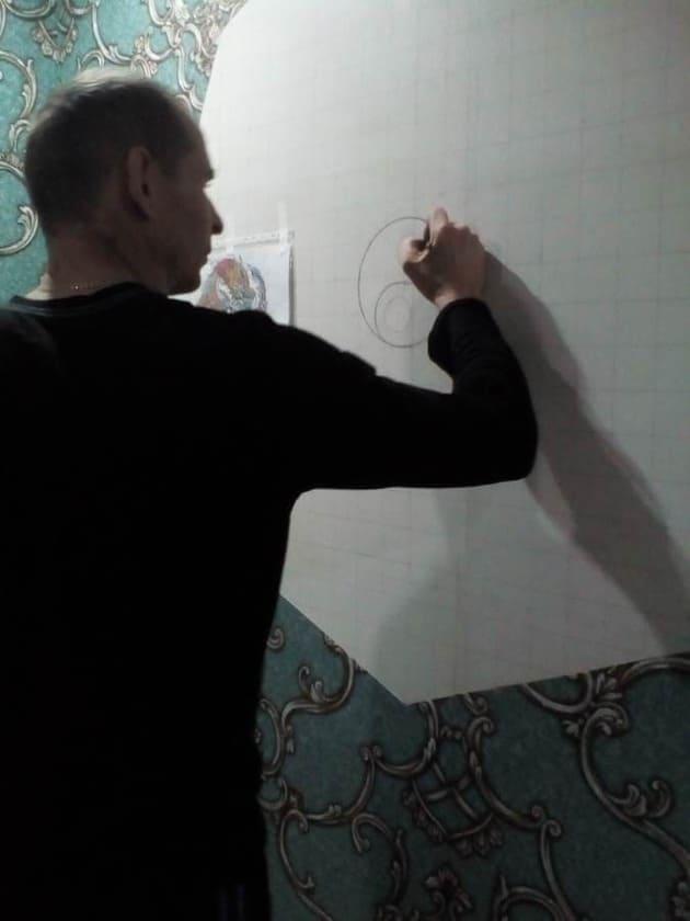 эскиз карандашём