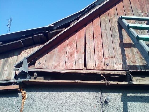 ремонт фронтона