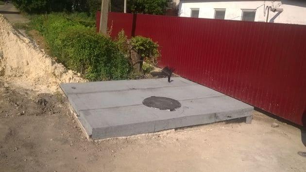 устройство сливной ямы